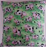 LARGE COW THEMED CUSHION - Animals
